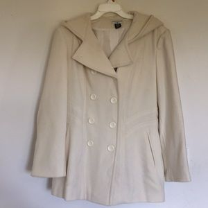 Hoodie Pea Coat